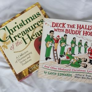 2 Great Christmas Coffe Table Books